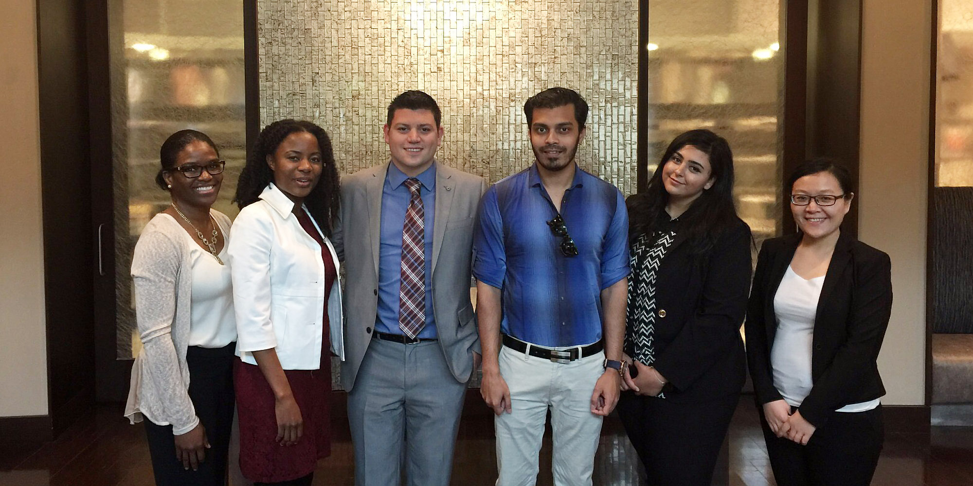 Hospitality Graduate Students in New York Hotel